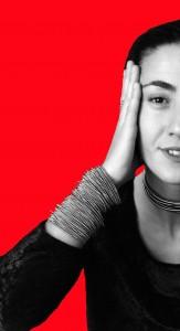 Tiziana met armband 97 (rood)