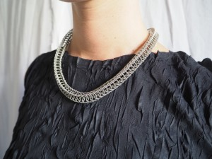 Weave collier